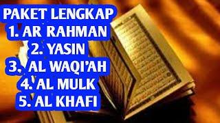 Download Video Surah Ar Rahman,Surah Yasin,Surah Al Waqi'ah,Surah Al Mulk & Surah Al Kahfi MP3 3GP MP4
