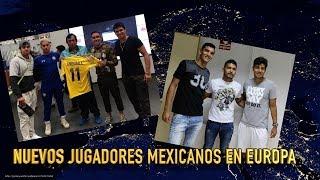 Nuevos Jugadores en Europa Andorra y CF Salmantino