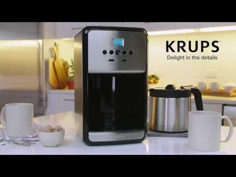 KRUPS ET3530 Programmable Thermal Filter Coffee Maker