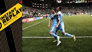 INSTANT REPLAY: Was there a hand ball on David Villa's goal vs. Portland? by Major League Soccer