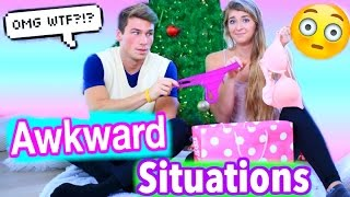 Awkward Situations on CHRISTMAS! Can you relate? Subscribe for more videos, and be sure to give it a thumbs up. Also if you see this comment