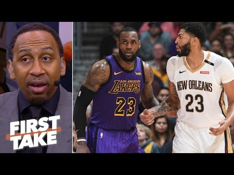 Stephen A. praying Lakers land Anthony Davis | First Take