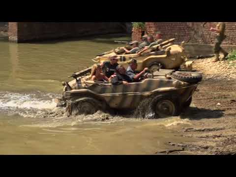 5 Schwimmwagen Dance In The Water At Ternavasso 2017