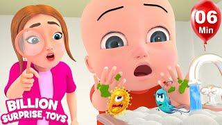 Video Baby Brothers Song - Teach Good Habits | Nursery Rhymes & Kids Songs MP3, 3GP, MP4, WEBM, AVI, FLV Mei 2018