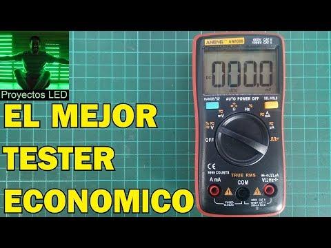 Peso ideal - El mejor tester economico, review aneng an8008