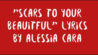 "Video ""Scars to Your Beautiful"" by Alessia Cara Lyrics MP3, 3GP, MP4, WEBM, AVI, FLV Maret 2018"