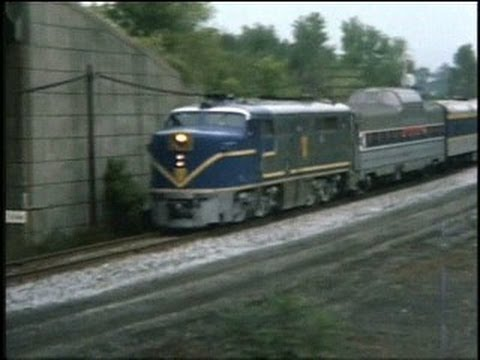 ALCO - The first clip was taken on the east shore of the Hudson River, and shows a north bound Amtrak E8 powered Adirondack. This is on the NYC Systems Water Level ...
