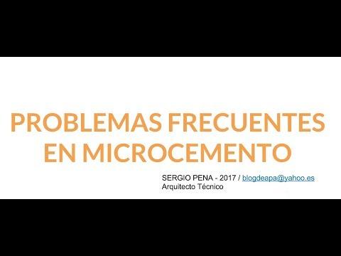 Microcemento problemas frecuentes