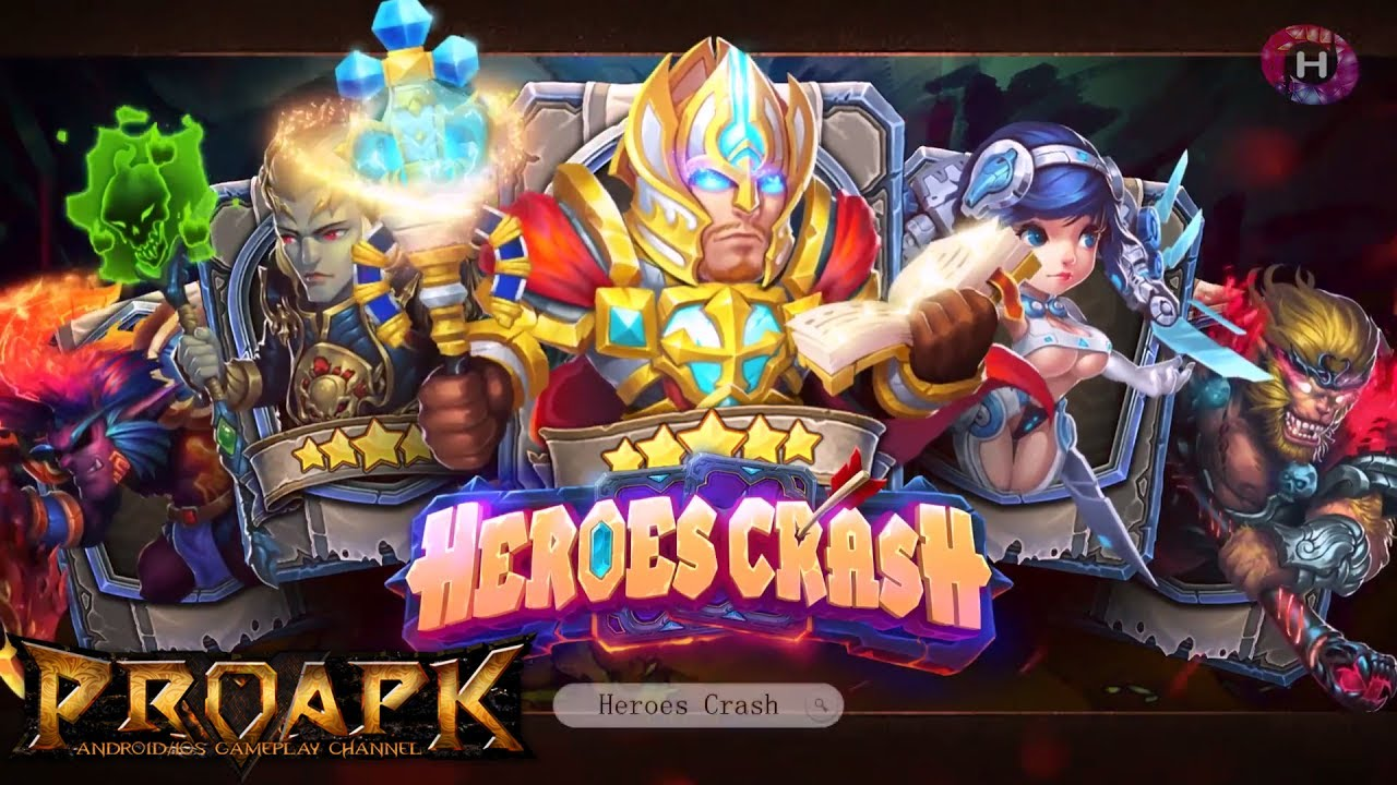 Heroes Crash: Deck Master