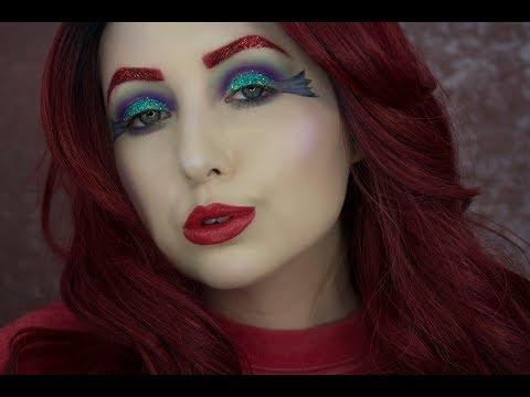 Ariel Mermaid Halloween Tutorial (видео)