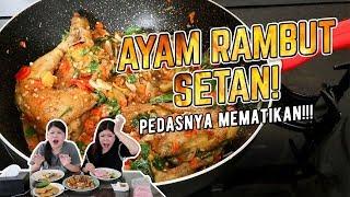 Video CARA MEMBUAT AYAM RAMBUT SETAN !!! MP3, 3GP, MP4, WEBM, AVI, FLV April 2019