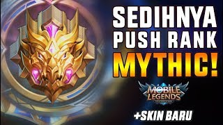 Download Video SEDIHNYA PUSH RANK MYTHIC!! Makasih Moontoon! - Mobile Legend Indonesia MP3 3GP MP4