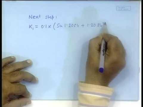 Vortrag - 20 Numerische Lösung von Differentialgleichungen