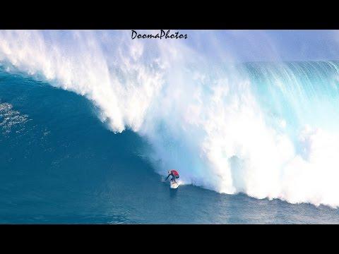 XXL Big Wave Paddle Surfing Jaws Maui