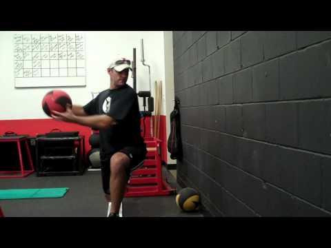 メディシンボールで体幹&バランスUP