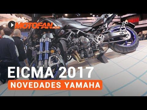 Vídeos de '(VIDEO) Las novedades de Yamaha en el salón EICMA de Milán 2017'