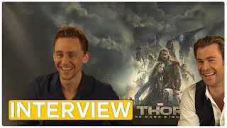 Thor 2 | Chris Hemsworth & Tom Hiddleston EXCLUSIVE Interview (2013) full download video download mp3 download music download