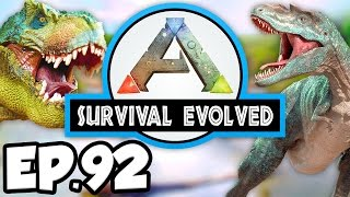 ARK: Survival Evolved Ep.92 - REDWOODS, FLOATING ISLAND, PENGUIN POND!!! (Modded Dinosaurs Gameplay)