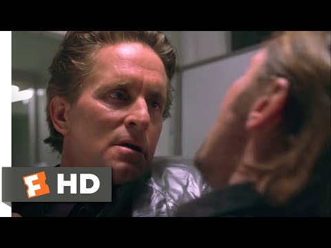 A Perfect Murder (1998) -  Wet Work Scene (8/9) | Movieclips