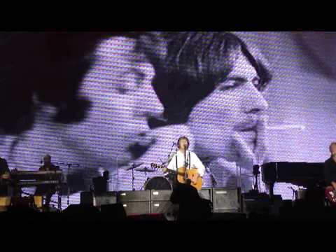 Something  – Paul McCartney – 22 november – Morumbi, SP, Brazil