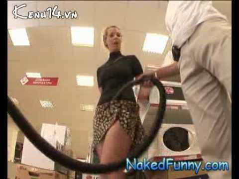 用吸塵器吸女生的裙子,你不被K才奇怪勒!!