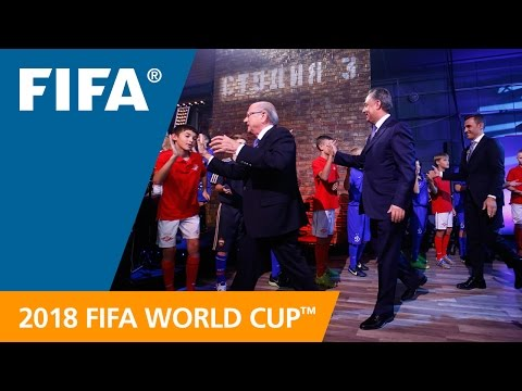 REPLAY: Russia 2018 Official Emblem Launch Show