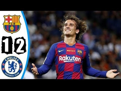 Barcelona vs Chelsea 1-2 - Highlights & Goals Resumen & Goles 2019 HD
