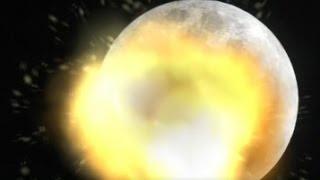 En Güçlü Nükleer Bombayı Ay'a Atarsak Ne Olur?