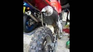 8. Honda XR250 Exhaust & Airbox mod