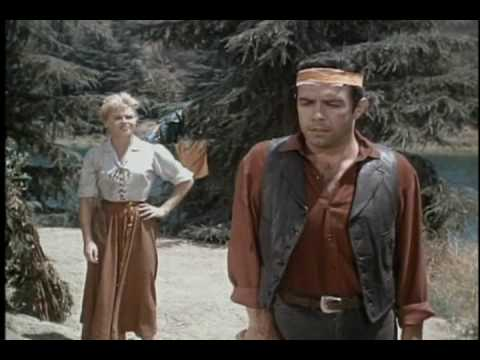 Bonanza Savage clip w/ Pernell Roberts singing the Water is Wide