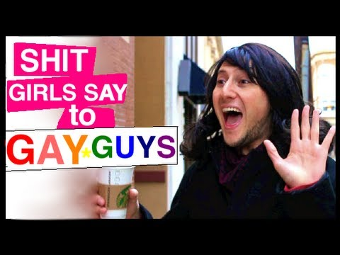 shit girls say - Click to tweet! http://clicktotweet.com/rgceB And here's Shit Chicks Dig AKA Shit Douchebags Say (my newest video): http://www.youtube.com/watch?v=zsj5p85Sn2...