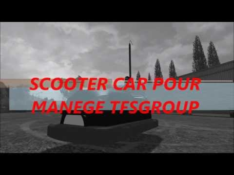 SCOOTER CAR POUR MANEGE TFSGROUP