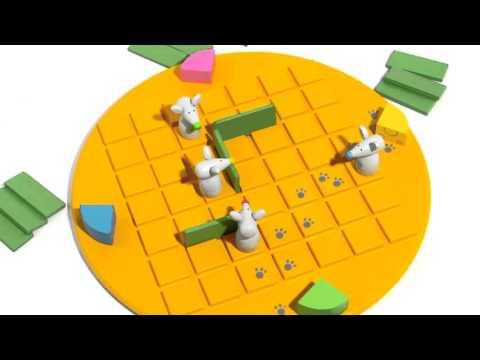 Видео - Коридор для детей (Quoridor kid)