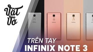 Vật Vờ Infinix Note 3: giá 4tr, Pin 4500mAh, 6