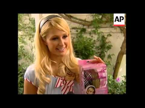 Paris Hilton launches new hair extension line called The Bandit.