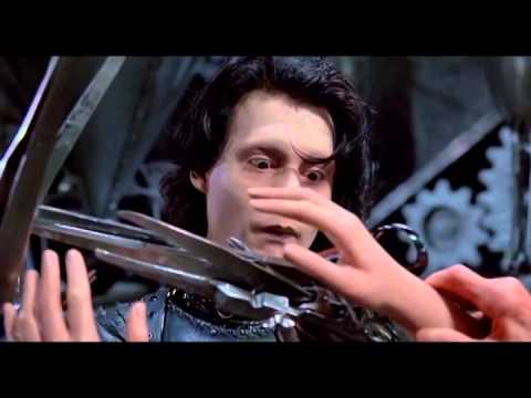 Edward Scissorhands Scene