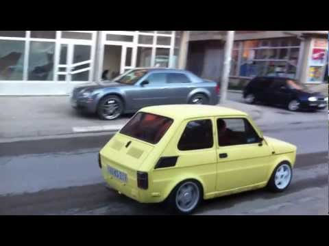 Fiat 126p with suzuki GSX-R engine
