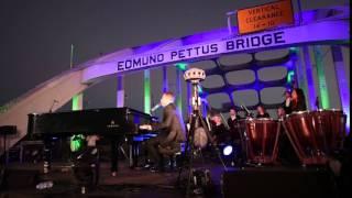 Common and John Legend Preform on The Edmund Pettus Bridge in Selma