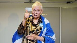 Vivienne Westwood Backs 'Yes' Campaign For Scottish Independence