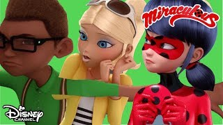 Evil Kissing Zombie!   Miraculous Ladybug   Official Disney Channel Africa