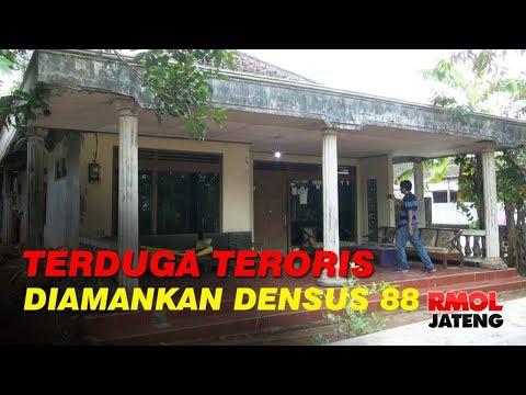 Densus 88 Amankan Terduga Teroris di Gunungpati Semarang