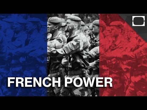 France - Share on Facebook: http://testu.be/1DugrW8 Even though France's military is significantly smaller than the U.S.'s, the country is still a strong diplomatic force and economic powerhouse. So...