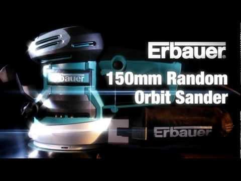 Erbauer ERB382SDR Random Orbit Sander 230-240V