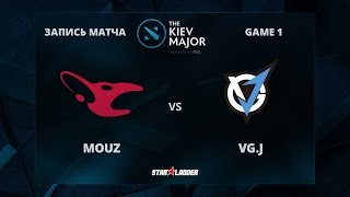 Mousesports vs VG.J, Game 1, The Kiev Major Group Stage