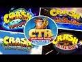Crash Bandicoot All Intros Evolution 1996 2019