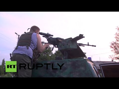 Video%3A Heavily armed militia on patrol in Gorlovka%2C E.Ukraine