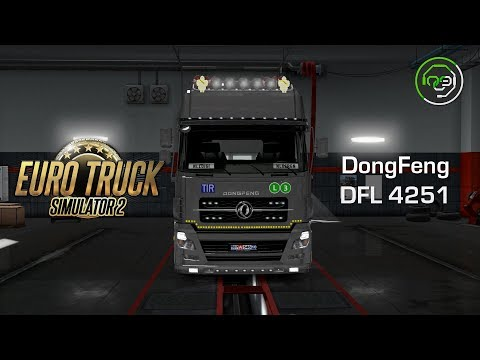 Dong Feng DFL Hotfix for ETS2 1.28 v2.6