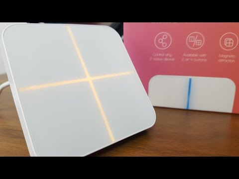 Unboxing - Aeotec Wallmote (4 Switch Version)