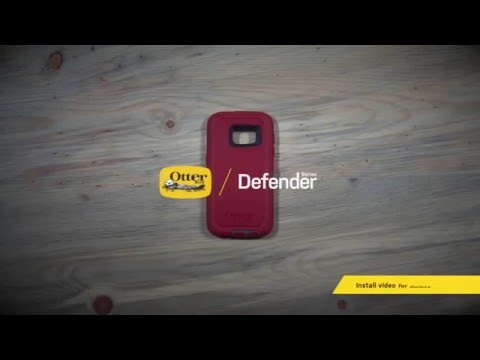 OtterBox Defender Series for the Samsung Galaxy S7 | Install Guide
