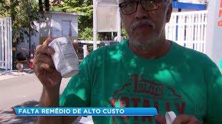 Paciente espera há cinco meses por medicamento de alto custo em São Roque